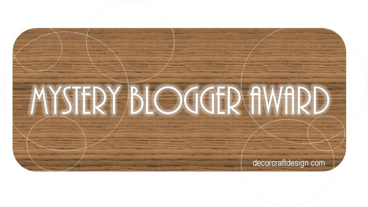 Mystery Blogger Award No.2